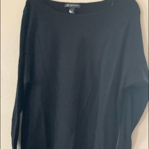 INC Black sweater 1X
